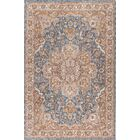 Matteson Traditional Navy/Orange Area Rug Rug Size: 7'10'' x 10'3''
