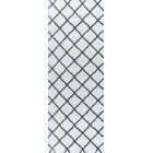 Arthemus Cream/Charcoal Area Rug Rug Size: 5'3'' x 7'3''