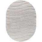 Nassauer Scrollwork Scatter Cream Area Rug Rug Size: 5'3'' x 7'3'' Oval