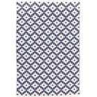 Samode H Woven Blue IndoorOutdoor Area Rug Rug Size: Rectangle 6' x 9'