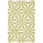 Aster Hooked Green Area Rug Rug Size: Rectangle 2' x 3'