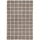 Grid Tufted Gray Area Rug Rug Size: Rectangle 10' x 14'