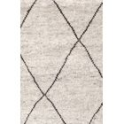 Hand-Knotted Gray Area Rug Rug Size: Rectangle 8' x 10'