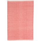Herringbone Hand Woven Pink Area Rug Rug Size: Rectangle 4' x 6'