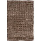 Hand Woven Brown Area Rug Rug Size: Rectangle 10' x 14'