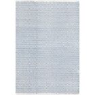 Herringbone H Woven Swedish Blue Area Rug Rug Size: Runner 2'6