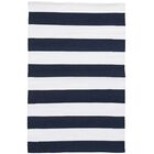 Catamaran Navy Indoor/Outdoor Area Rug Rug Size: 12' x 16'