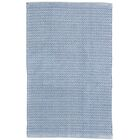 Herringbone Denim Blue Indoor/Outdoor Area Rug Rug Size: 3' x 5'
