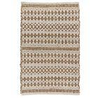 La Palma Hand Woven Cream Area Rug Rug Size: 10' x 14'
