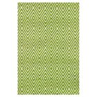 Hand Woven Green Indoor/Outdoor Area Rug Rug Size: 10' x 14'