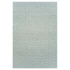 Hand Woven Blue Area Rug Rug Size: 8'5