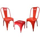 Coca-Cola Retro Caf� 3 Piece Bistro Set