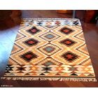 Artisan Crafted Multicolor Starlight Hand Woven South American Naturally Dyed Wool Home Decor Area Rug