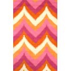 Varanas Hand-Tufted Wool Pink/Yellow Area Rug Rug Size: Rectangle 8'6