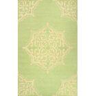 Varanas Hand-Woven Green Area Rug Rug Size: Rectangle 8'6