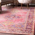 Montegue Pink Area Rug Rug Size: Rectangle 5'6