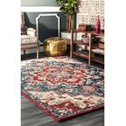 Graysen Hand Tufted Wool Red Area Rug Rug Size: Rectangle 5' x 8'