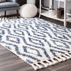 Reid Hand-Woven Soukey Area Rug Rug Size: Rectangle 7'6