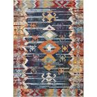 Veendam Blue/Red Area Rug Rug Size: Rectangle 4' x 6'