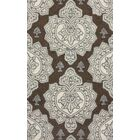 Marrakesh Hillcrest Hand-Tufted Cocoa Area Rug Rug Size: Rectangle 5' x 8'