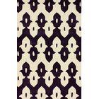 Palazzo Hand-Tufted Wool Purple Area Rug Rug Size: Rectangle 6' x 9'