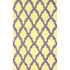Brilliance Yellow/Purple Damian Area Rug Rug Size: Rectangle 6' x 9'