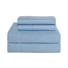 4 Piece 800 Thread Count Deep Pocket Luxury Sheet Set Size: King, Color: Cloud Blue