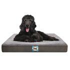Supreme Sherpa Dog Bed Color: Modern Gray, Size: XLarge