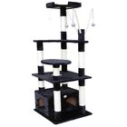 66'' Cat Tree Color: Black
