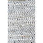 Silver Flatweave Area Rug Rug Size: 5' x 8'