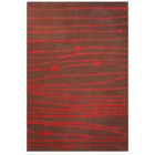 Contempo Brown/Red Area Rug Rug Size: 8' x 10'6