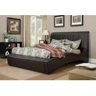 Deshields Upholstery Sleigh Bed