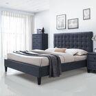 Bodnar PU Upholstered Platform Bed Size: Queen