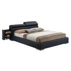Kellett Upholstered Platform Bed Color: Black, Size: Queen
