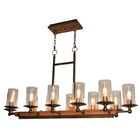 Legno Rustico 12-Light Kitchen Island Pendant Finish: Burnished Brass