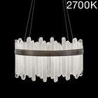 Lior 40-Light Drum Chandelier Color Temperature: 2700, Finish: Bronze