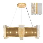 Crownstone 12-Light Chandelier Shade Material: Mesh, Finish: Gold