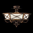 Newport 3-Light Semi Flush Mount