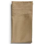 Flat Sheet Size: King, Color: Toffee