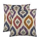 Aura Throw Pillow Color: Prism