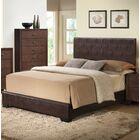 Oge Upholstered Panel Bed Color: White, Size: King