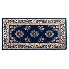 Hearth Oriental I Handmade Wool Area Rug Color: Blue, Rug Size: 44