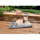 Billy Plush Fur Crate Orthopedic Pet Mat Size: Medium (29