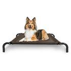 Cot Dog Bed With Frame Color: Espresso, Size: Medium (43.25