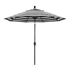 9' Market Sunbrella Umbrella Frame Color: Matted Black, Fabric Color: Dolce Mango