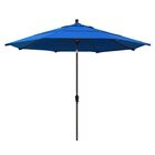 Mullaney 11' Market Umbrella Frame Color: Champagne, Color: Royal Blue