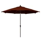 Mullaney 11' Market Umbrella Frame Color: Bronze, Color: Ginkgo