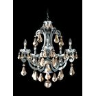 Cadence 5-Light Chandelier Color: Black Pearl, Crystal Color: Strass Golden Shadow