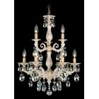 Milano 9-Light Chandelier Finish: Midnight Gild, Crystal Color: Strass Clear