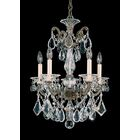 La Scala 5-Light Chandelier Crystal Type: Heritage Clear, Finish: Florentine Bronze
